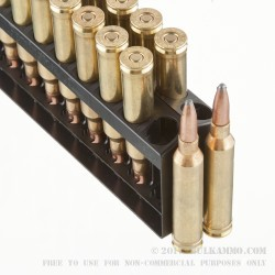 20 Rounds of 7mm Rem Mag Ammo by Remington - 175gr PSP