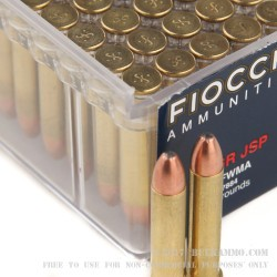 50 Rounds of .22 WMR Ammo by Fiocchi - 40gr JSP