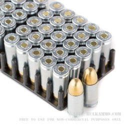 50 Rounds of 9mm Ammo by MaxxTech - 115gr FMJ