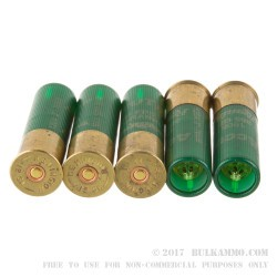 5 Rounds of 12ga 3' Ammo by Remington - 385gr Sabot Slug