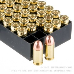 500  Rounds of .45 ACP Ammo by Fiocchi - 230gr FMJ