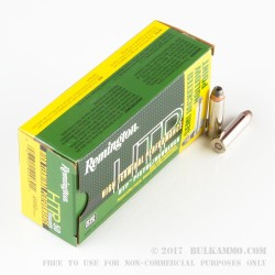 500  Rounds of .357 Mag Ammo by Remington HTP - 110gr SJHP
