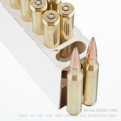 20 Rounds of .338 Lapua Ammo by Black Hills Ammunition - 250gr MatchKing HPBT