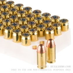 50 Rounds of .45 ACP Ammo by Federal - 230gr TMJ