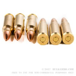 20 Rounds of .308 Win Ammo by Remington - 175gr MatchKing HPBT