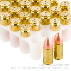1050 Rounds of 9mm Ammo by Blazer Brass - 115gr FMJ