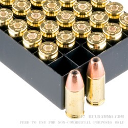 1000 Rounds of 9mm Ammo by Fiocchi - 147gr JHP
