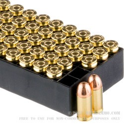 1000 Rounds of .380 ACP Ammo by PMC - 90gr FMJ