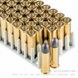 250 Rounds of .38 Spl Ammo by Prvi Partizan - 158gr LRN