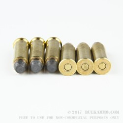 50 Rounds of .38 Spl Ammo by Magtech - 125gr SJSP