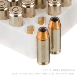 20 Rounds of 10mm Ammo by Federal Hydra Shok - 180gr JHP