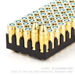 1000 Rounds of 9mm Ammo by Sellier & Bellot Police - 115gr FMJ
