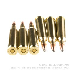 20 Rounds of .22-250 Rem Ammo by Winchester Super-X - 64gr PSP
