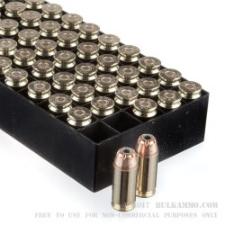 1000 Rounds of .40 S&W Ammo by Fiocchi - 180gr JHP