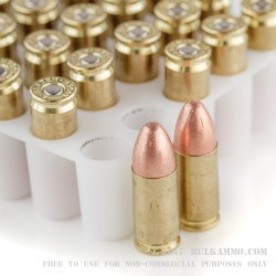 50 Rounds of 9mm Ammo by Blazer Brass - 115gr FMJ