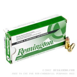 500  Rounds of .357 SIG Ammo by Remington - 125gr JHP
