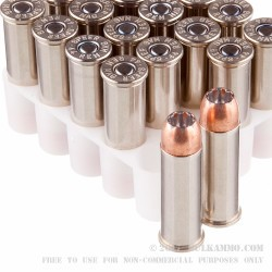 20 Rounds of .44 Mag Ammo by Speer - 200gr JHP