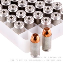 50 Rounds of .40 S&W Ammo by CCI - 165gr TMJ