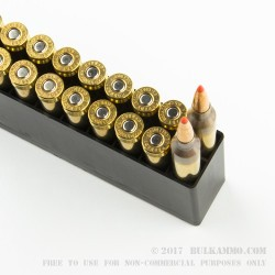 20 Rounds of 6.5 mm Creedmoor Ammo by Hornady - 120gr GMX
