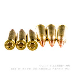 20 Rounds of 6 mm Rem Ammo by Hornady Superformance - 95gr SST