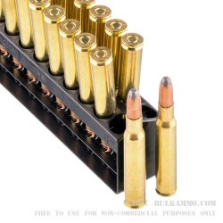 200 Rounds of 30-06 Springfield Ammo by Remington - 180gr SP