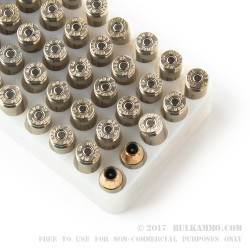 50 Rounds of .40 S&W Ammo by Federal LE - 165gr JHP Hydra Shok