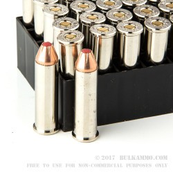 25 Rounds of .357 Mag Ammo by Hornady - 125gr JHP