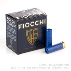 250 Rounds of 16ga Ammo by Fiocchi -  #8 shot
