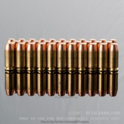 50 Rounds of .40 S&W Ammo by MBI - 180gr FMJ
