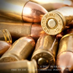 50 Rounds of 9mm Ammo by MBI - 124gr FMJ