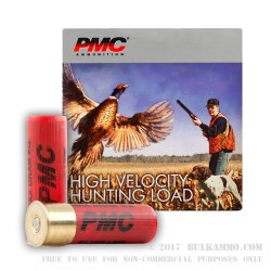 25 Rounds of 16ga Ammo by PMC -  #6 shot
