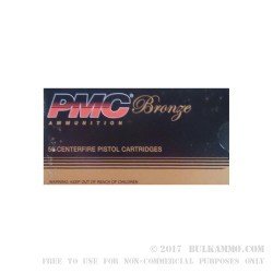 1000 Rounds of 10mm Ammo by PMC - 200gr FMJ