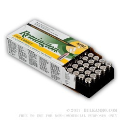 500  Rounds of 9mm Nickel Plated Ammo by Remington - 115gr MC