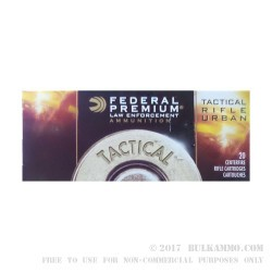500 Rounds of .223 Ammo by Federal Premium - 64gr TRU Soft Point
