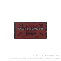 500 Rounds of .44 Mag Ammo by Ultramax - 240gr LFN