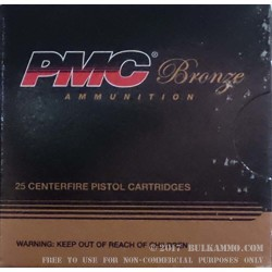 500  Rounds of 10mm Ammo by PMC - 170gr JHP