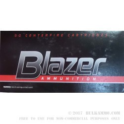 50 Rounds of .32 ACP Ammo by Blazer - 71gr FMJ