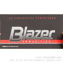1000 Rounds of .40 S&W Ammo by Blazer - 180gr TMJ