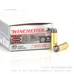 45 Long Colt 250 gr Lead Flat Nose Winchester Cowboy Ammunition For Sale!