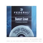 25 Rounds of 12ga Ammo by Federal Top Gun -  #7 1/2 shot