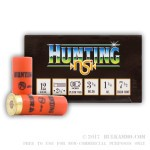 25 Rounds of 12ga Ammo by NobelSport - 1 1/4 ounce #7 1/2 - Lead Shot