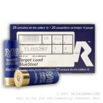 250 Rounds of 12ga Ammo by Rio Ammunition - 1 ounce #7 Shot (Steel)