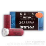 25 Rounds of 12ga Ammo by Federal - Top Gun - 1 ounce #7 1/2 lead shot
