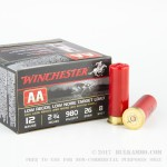 250 Rounds of Low Recoil 12ga Ammo by Winchester AA - 7/8 ounce #8 shot