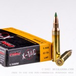 1000 Rounds of 5.56x45 Ammo by PMC - 62gr FMJ XM855