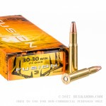 20 Rounds of 30-30 Win Ammo by Federal - 170gr Fusion