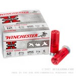 25 Rounds of 12ga Ammo by Winchester Super-X Heavy Game Load - 1 1/8 ounce #6 shot