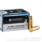 20 Rounds of .44 Mag Ammo by Federal Power-Shok - 180gr JHP