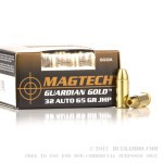 20 Rounds of .32 ACP Ammo by Magtech - 65gr JHP