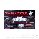 20 Rounds of 6.5 mm Creedmoor Ammo by Winchester - 142gr AccuBond LR Polymer Tipped